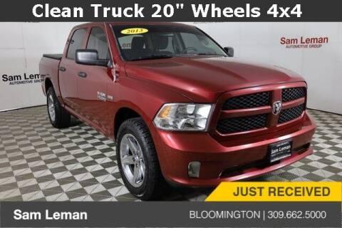 2013 RAM Ram Pickup 1500 for sale at Sam Leman Mazda in Bloomington IL