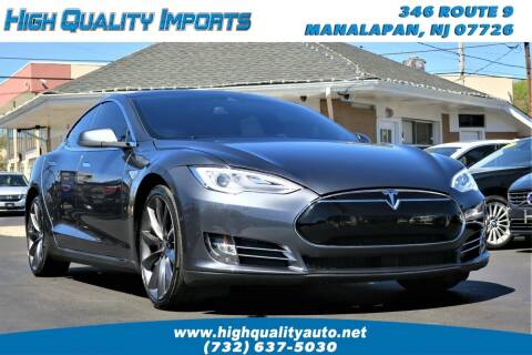 2015 Tesla Model S for sale at High Quality Imports in Manalapan NJ