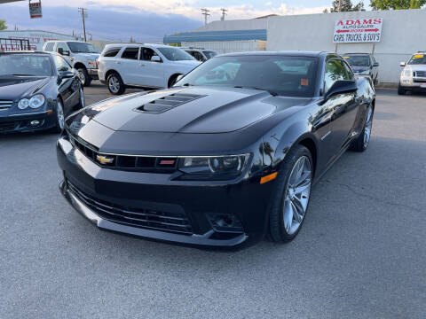 2015 Chevrolet Camaro for sale at Adams Auto Sales in Sacramento CA