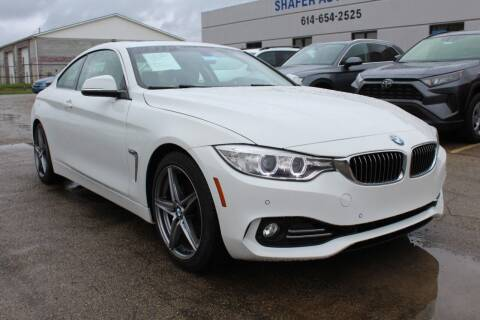 2014 BMW 4 Series for sale at SHAFER AUTO GROUP in Columbus OH
