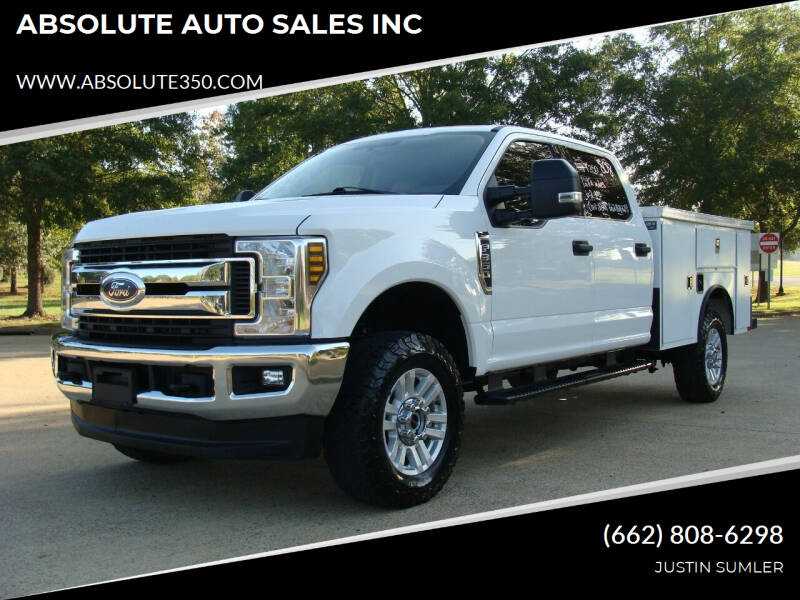 2018 Ford F-350 Super Duty for sale at ABSOLUTE AUTO SALES INC in Corinth MS