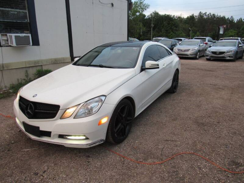 2012 Mercedes-Benz E-Class for sale at Jump and Drive LLC in Humble TX