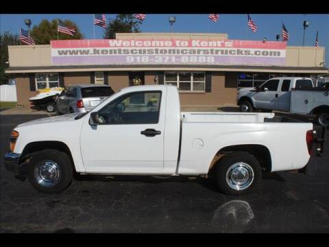 2007 GMC Canyon for sale at Kents Custom Cars and Trucks in Collinsville OK