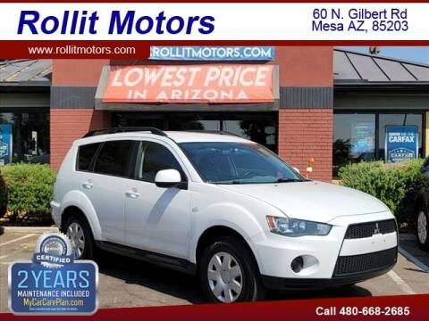 2011 Mitsubishi Outlander for sale at Rollit Motors in Mesa AZ