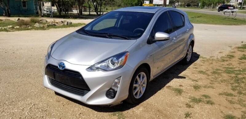 2015 Toyota Prius c for sale at STX Auto Group in San Antonio TX