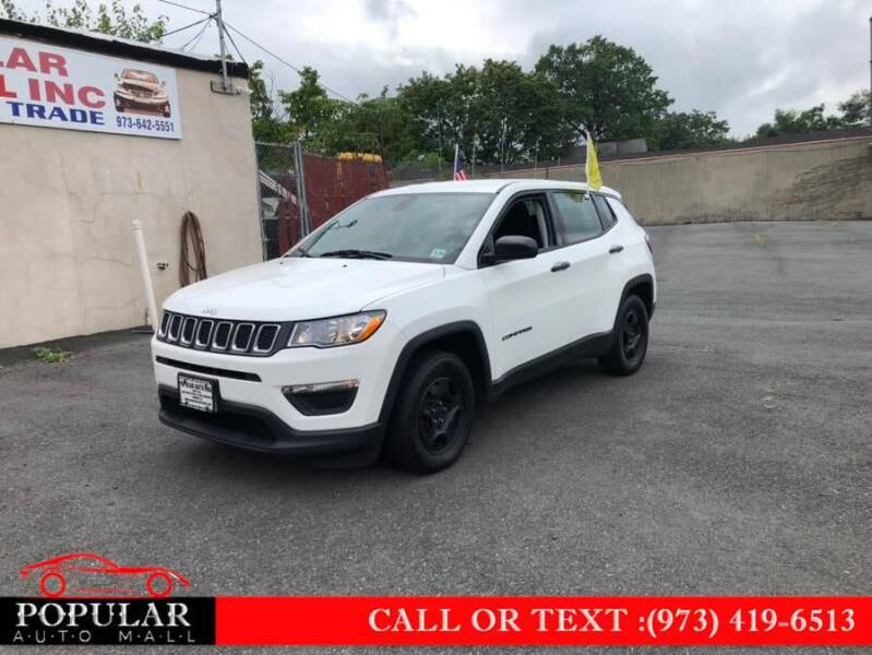 2018 Jeep Compass for sale at Popular Auto Mall Inc in Newark NJ