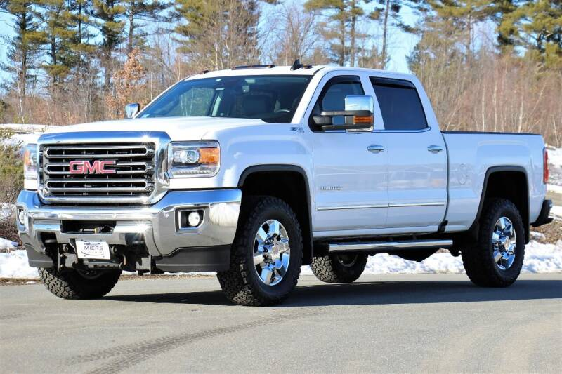 2016 GMC Sierra 3500HD for sale at Miers Motorsports in Hampstead NH