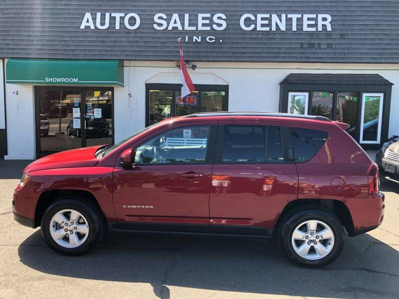2016 Jeep Compass for sale at Auto Sales Center Inc in Holyoke MA