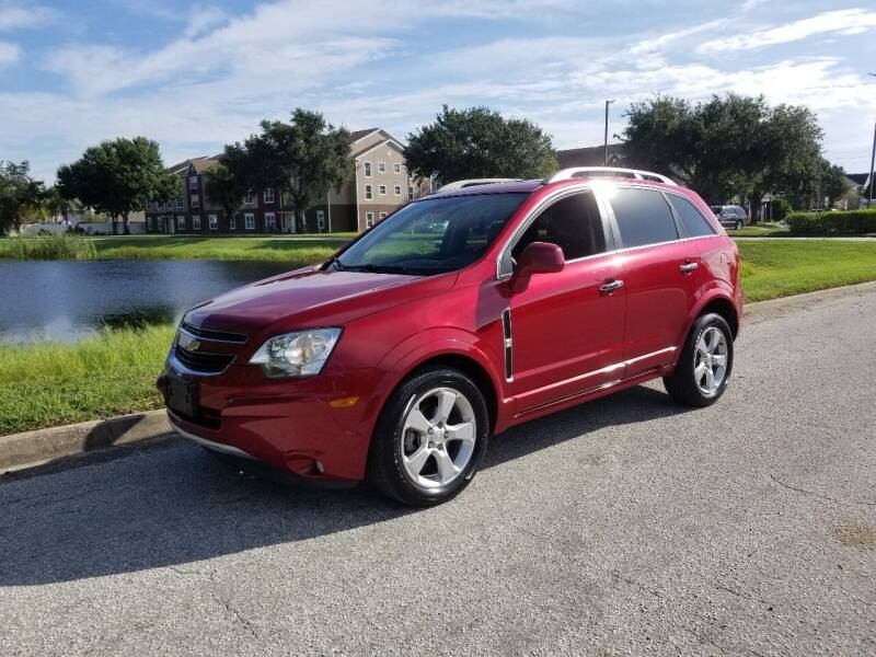2014 Chevrolet Captiva Sport for sale at Street Auto Sales in Clearwater FL