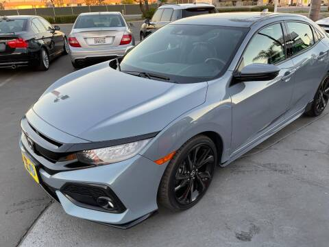 2018 Honda Civic for sale at CARSTER in Huntington Beach CA