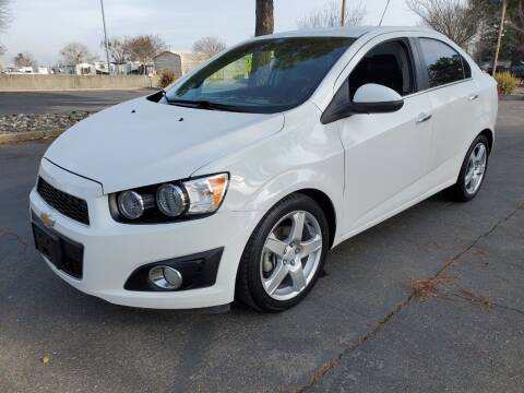 2016 Chevrolet Sonic for sale at Matador Motors in Sacramento CA