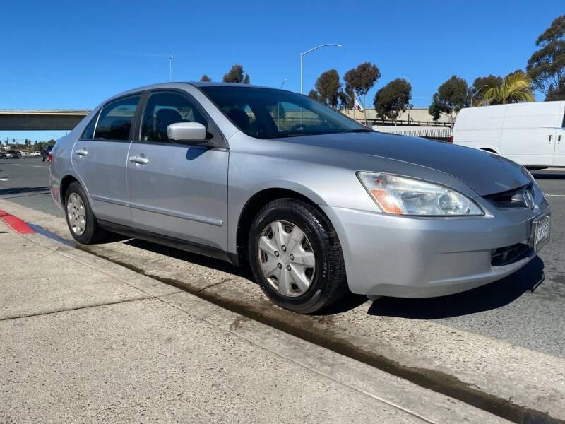 2003 Honda Accord for sale at Beyer Enterprise in San Ysidro CA