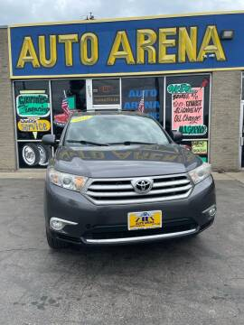 2012 Toyota Highlander for sale at Auto Arena in Fairfield OH