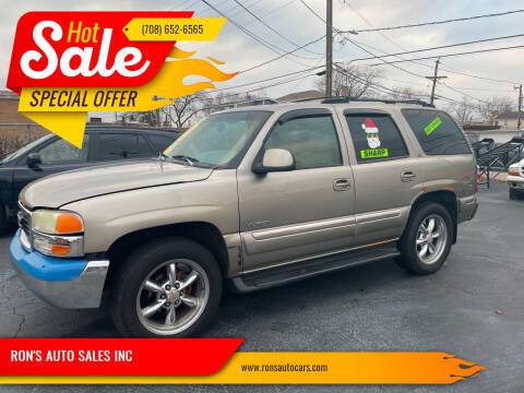 2000 GMC Yukon for sale at RON'S AUTO SALES INC in Cicero IL