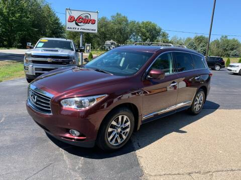 2014 Infiniti QX60 for sale at D-Cars LLC in Zeeland MI