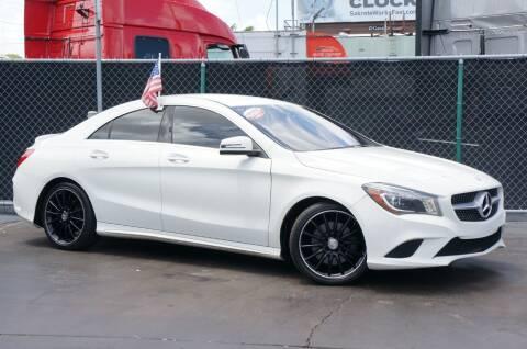 2015 Mercedes-Benz CLA for sale at MATRIX AUTO SALES INC in Miami FL