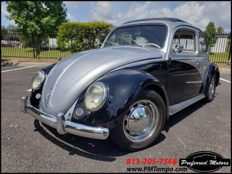 1960 Volkswagen Beetle Ragtop for sale at PREFERRED MOTORS in Tampa FL