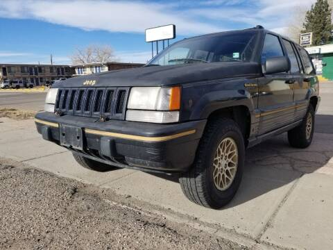 1993 Jeep Grand Cherokee for sale at Alpine Motors LLC in Laramie WY