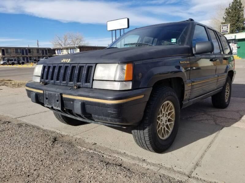 1993 Jeep Grand Cherokee for sale at Alpine Motors LLC in Laramie WY