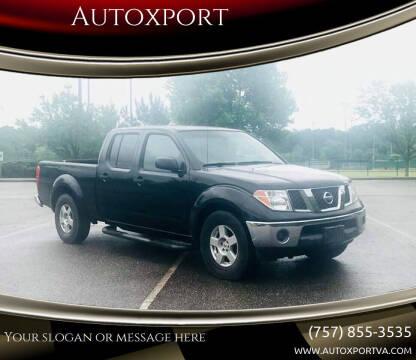 2008 Nissan Frontier for sale at Autoxport in Newport News VA