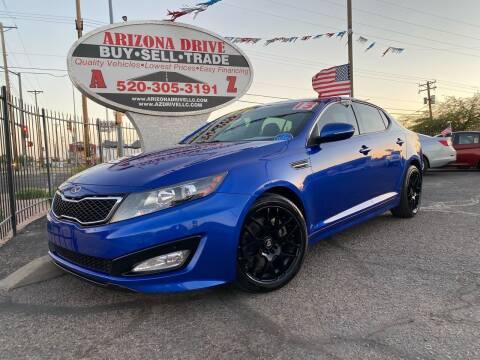 2013 Kia Optima for sale at Arizona Drive LLC in Tucson AZ