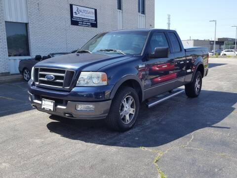 2004 Ford F-150 for sale at AUTOSAVIN in Elmhurst IL
