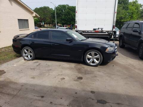 2014 Dodge Charger for sale at DFW AUTO FINANCING LLC in Dallas TX