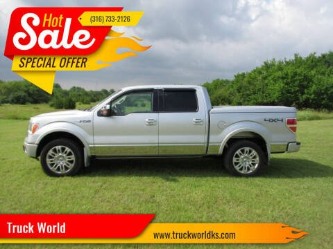 2009 Ford F-150 for sale at Truck World in Augusta KS
