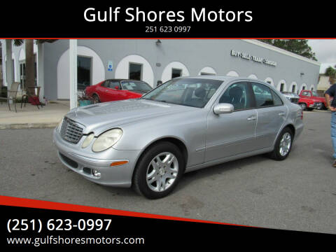 2004 Mercedes-Benz E-Class for sale at Gulf Shores Motors in Gulf Shores AL