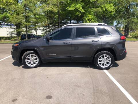 2016 Jeep Cherokee for sale at St. Louis Used Cars in Ellisville MO