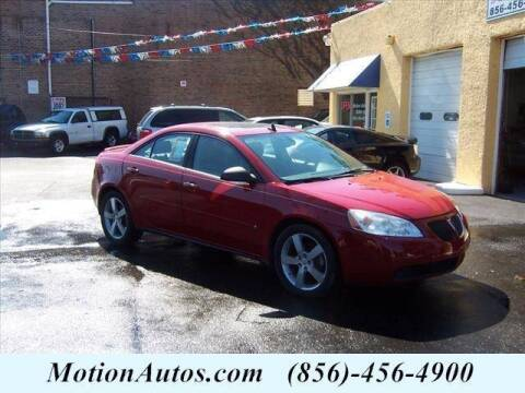 2007 Pontiac G6 for sale at Motion Auto Sales in West Collingswood Heights NJ
