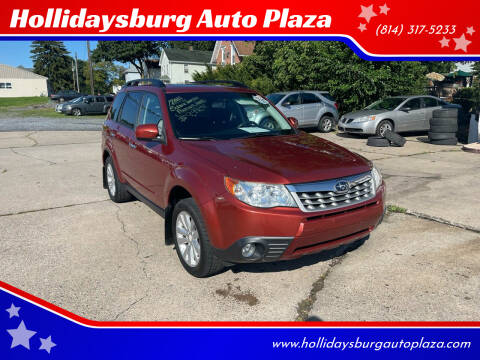 2011 Subaru Forester for sale at Hollidaysburg Auto Plaza in Hollidaysburg PA