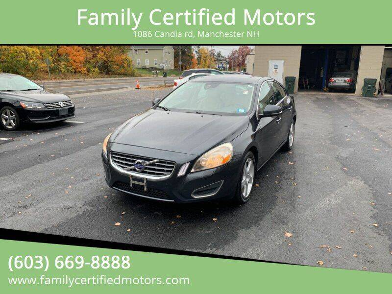 2012 Volvo S60 for sale at Family Certified Motors in Manchester NH