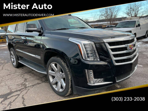 2015 Cadillac Escalade for sale at Mister Auto in Lakewood CO
