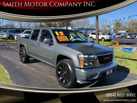 2012 GMC Canyon for sale at Smith Motor Company INC in Mc Cormick SC