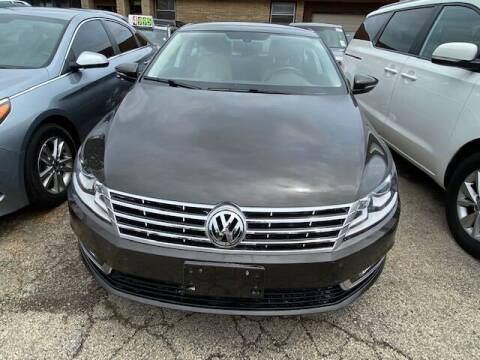 2014 Volkswagen CC for sale at NORTH CHICAGO MOTORS INC in North Chicago IL