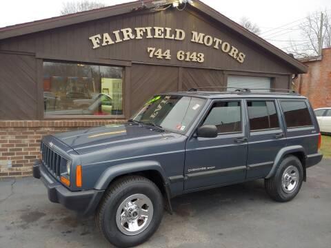 2001 Jeep Cherokee for sale at Fairfield Motors in Fort Wayne IN