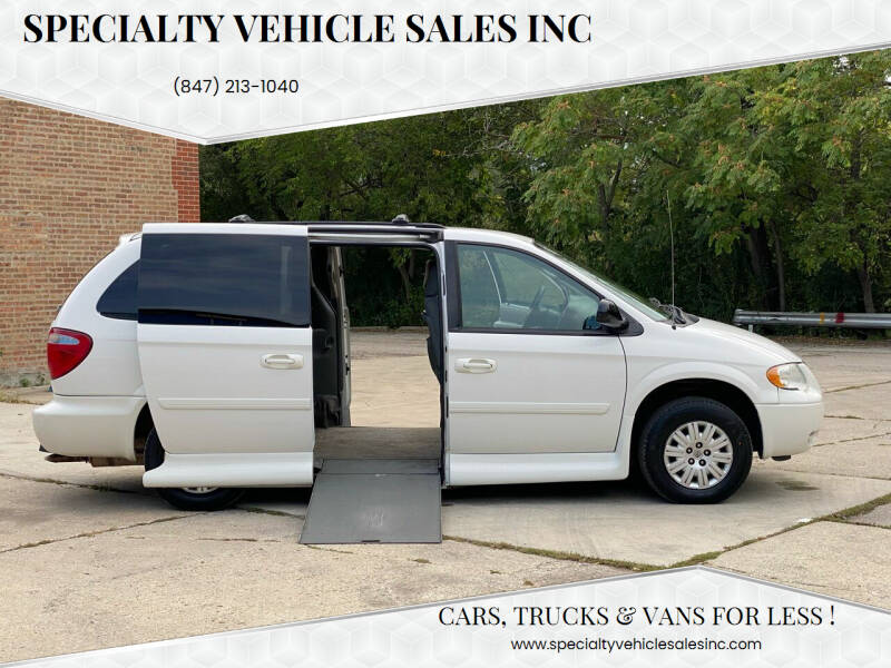 2006 Chrysler Town and Country for sale at SPECIALTY VEHICLE SALES INC in Skokie IL