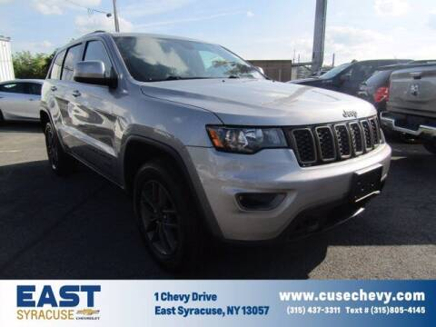 2016 Jeep Grand Cherokee for sale at East Syracuse Performance Sales & Service in Syracuse NY