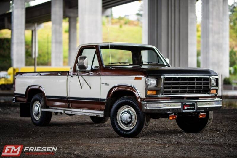 1981 Ford F-250 for sale at Friesen Motorsports in Tacoma WA