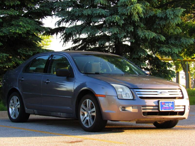 2006 Ford Fusion for sale at NY AUTO SALES in Omaha NE