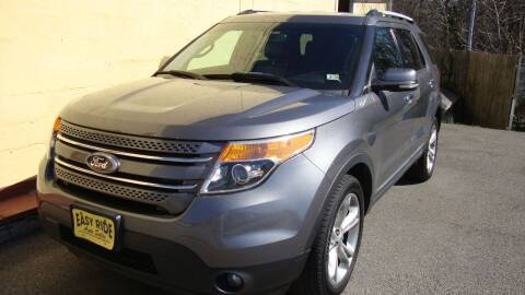 2013 Ford Explorer for sale at Easy Ride Auto Sales Inc in Chester VA