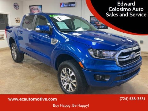 2020 Ford Ranger for sale at Edward Colosimo Auto Sales and Service in Evans City PA