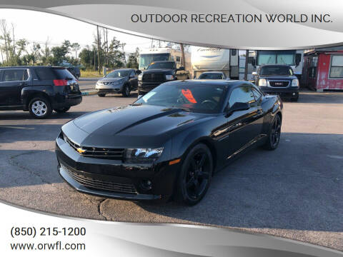 2015 Chevrolet Camaro for sale at Outdoor Recreation World Inc. in Panama City FL