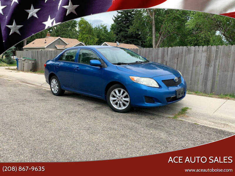 2009 Toyota Corolla for sale at Ace Auto Sales in Boise ID