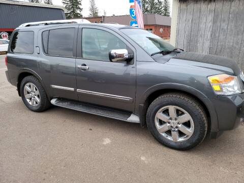 2010 Nissan Armada for sale at WB Auto Sales LLC in Barnum MN