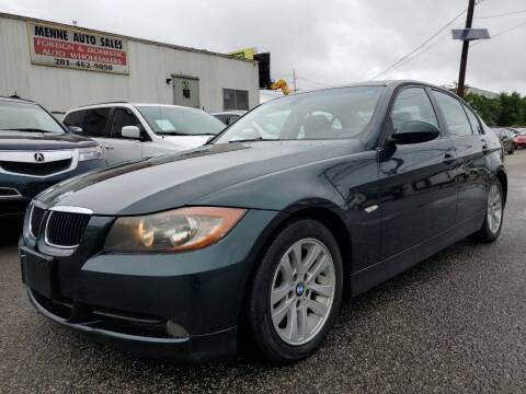 2007 BMW 3 Series for sale at MENNE AUTO SALES LLC in Hasbrouck Heights NJ