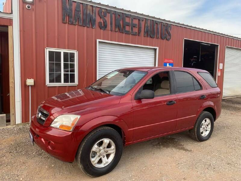 2009 Kia Sorento for sale at Main Street Autos Sales and Service LLC in Whitehouse TX