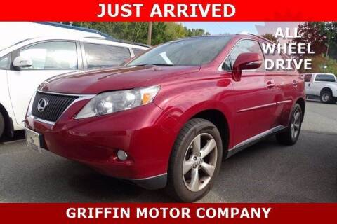 2011 Lexus RX 350 for sale at Griffin Buick GMC in Monroe NC