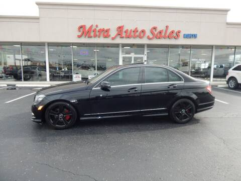 2011 Mercedes-Benz C-Class for sale at Mira Auto Sales in Dayton OH